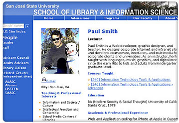 Paul Smith Instructor at San Jose State University